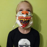 SCARY HALLOWEEN MASK - NUMBER 15